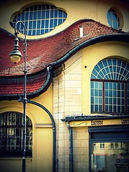Mexikoplatz Bahnhof Close-up by Stephanie Olsavsky