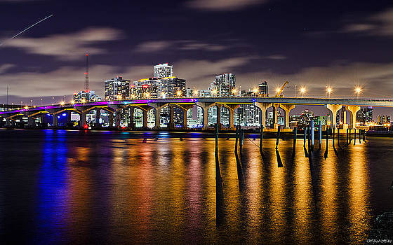 Miami Bridge by Wilfred Hdez