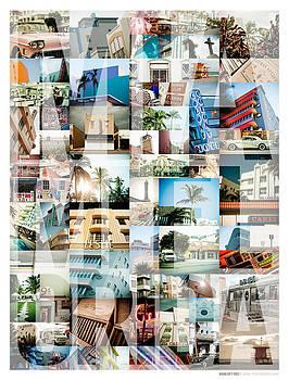 Miami Florida Montage - Type by Darren Martin