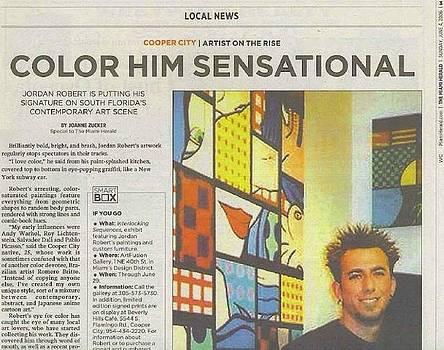 Miami Herald by Jordan  Robert