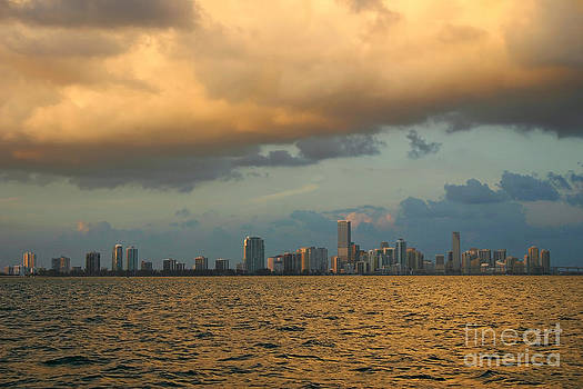 Miami on Stormy Dusk by Matt Tilghman