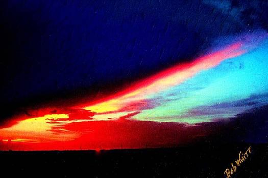 Miami Western Sky by Bob Whitt