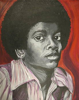 Michael Jackson by Kate Fortin