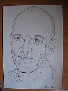 Michael Stipe by Nebur Alas