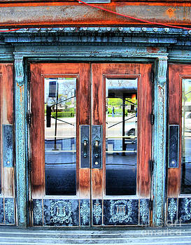 Michigan Arts Doors by Nicole A Talbot