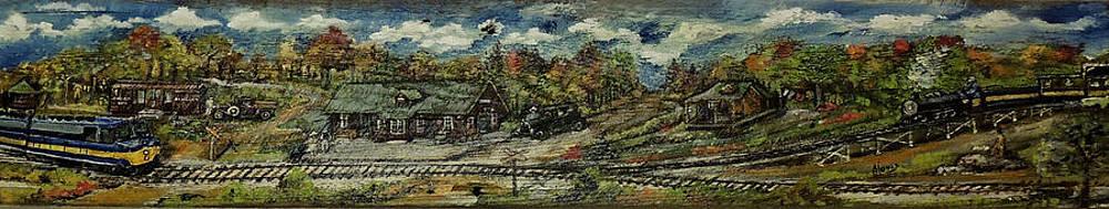 Amalia Jonas - Michigan AuSable Valley Railroad
