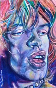 Mick Jagger 1 by Misty Smith
