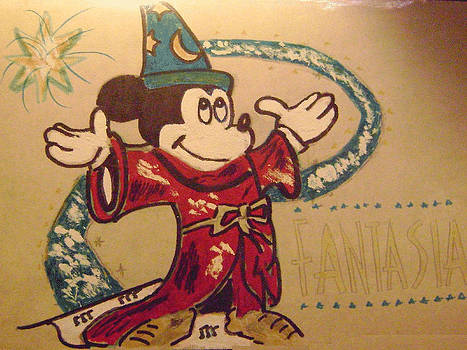 Mickey Mouse by Paul Rapa