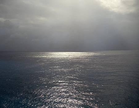 Mid-Caribbean At Noon  by Riley Geddings