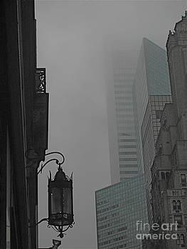 Mid-town Fog by Myron Schiffer