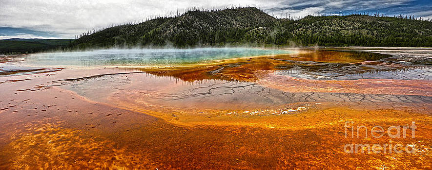 Gregory Dyer - Midway Geyser Basin Spring in Yellowstone National Park - 02