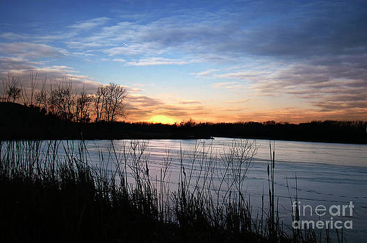 Midwest Sunset by Maria Aiello
