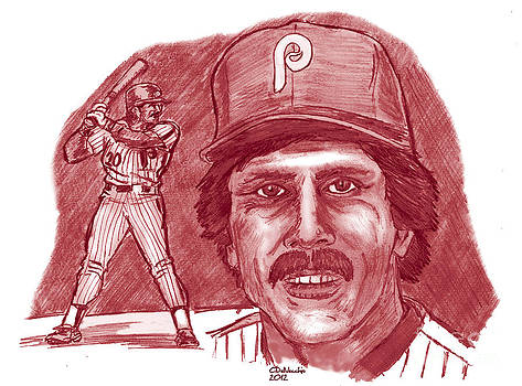 Chris  DelVecchio - Mike Schmidt red