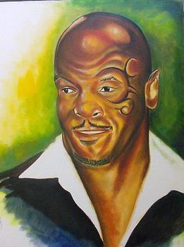 Mike Tyson by James  Thompson
