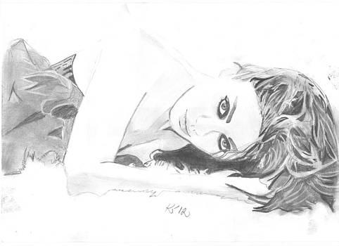 Mila Kunis by Kristina Mladenova