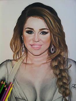 Miley Cyrus by Akshay Nair