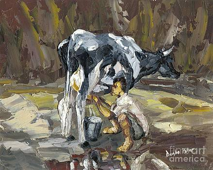 Milking by Dumba Peter