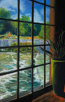 Mill with a view by Peter Jackson