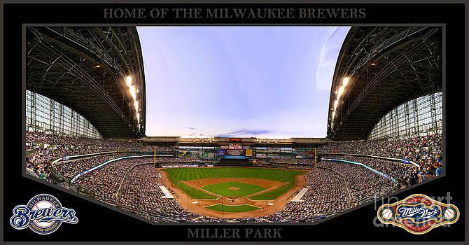Miller Park by Jeffrey  Elwood