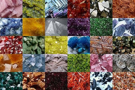 Mineral Mosaic by Bernard MICHEL
