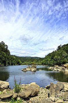 Minho river north of Portugal. by Inacio Pires
