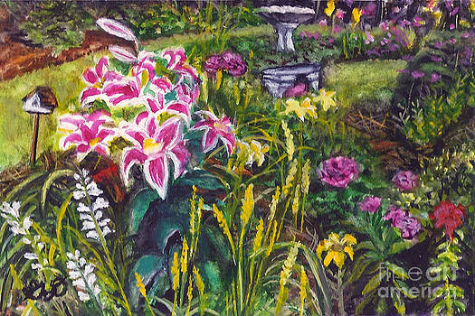 Mini - Southern Garden by Gail Darnell
