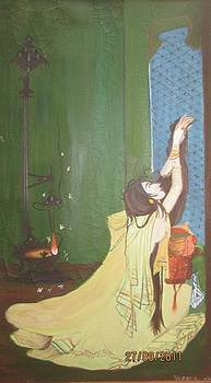 Miniature Painting by Jasmine Farooqi