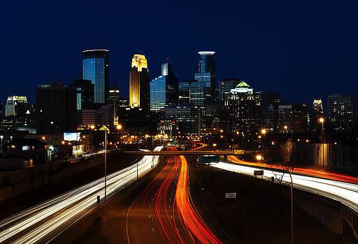 Minneapolis Skyline by Dustin Gaffke