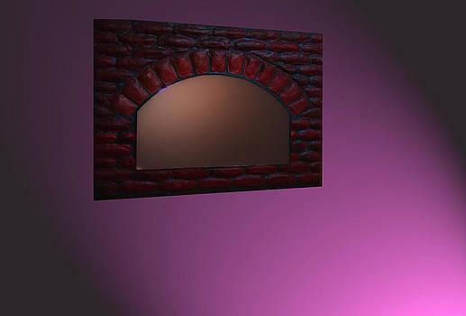 Mirror Frame by Kalpana Murali