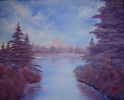 Mirror Lake by Justin  Dobbs