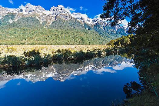 Mirror Lakes by Graeme Knox