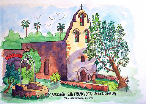 Mission San Francisco by Aileen Markowski