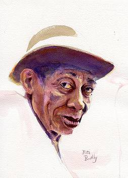 Mississippi John Hurt by Mimi Boothby