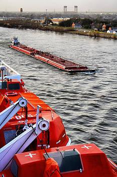 Jason Politte - Mississippi River Barge