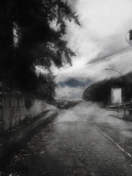 Mist by the Pier by Janet Kearns