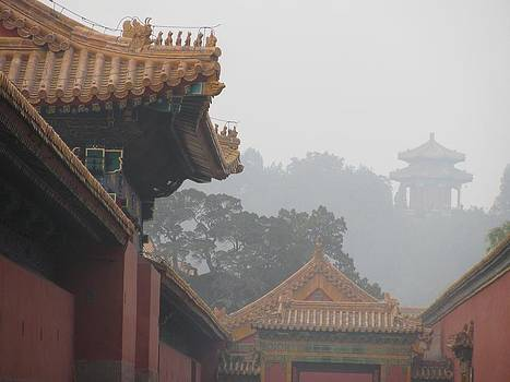 Alfred Ng - mist in forbidden city