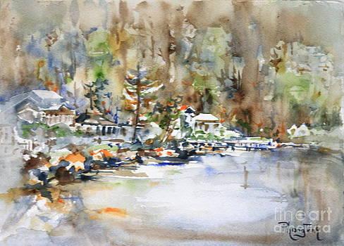 Misty Bay by Phong Trinh