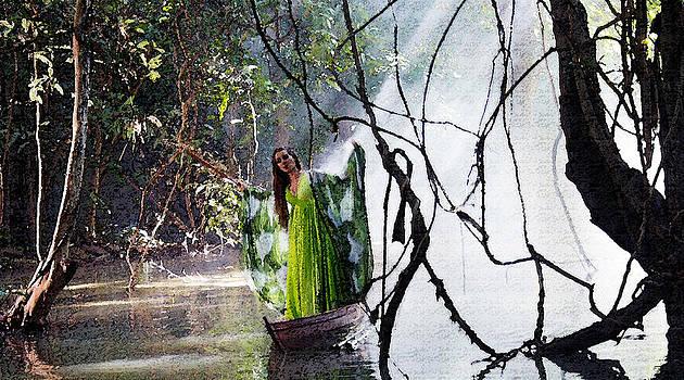 Kantilal Patel - Misty Lake Lady