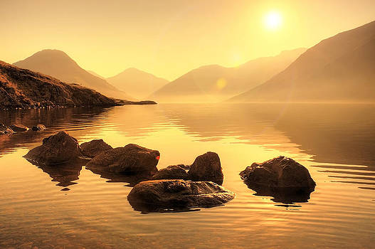Svetlana Sewell - Misty Lake