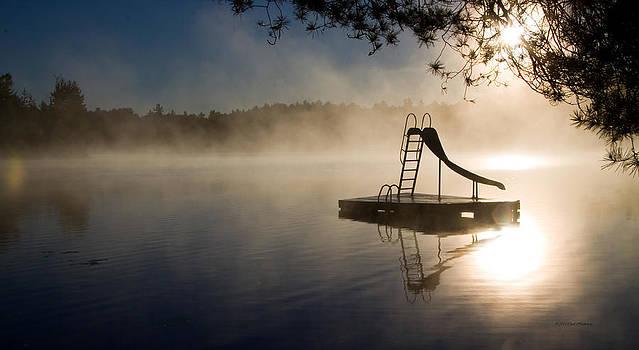 Misty Morning by Carol Hathaway