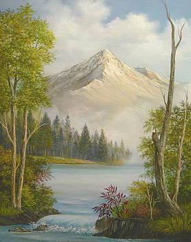 Misty Mountain Spendor by Vivian Eagleson