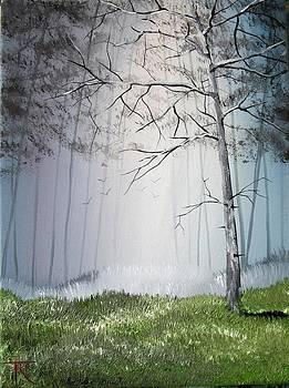 Misty Trees by Trudy Kepke