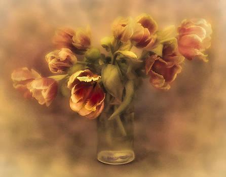 Misty Tulips by Jill Balsam