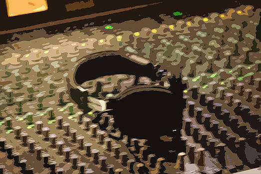 Mixing Board by Peter  McIntosh