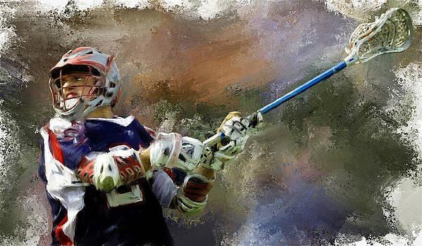Major League Lacrosse by Scott Melby