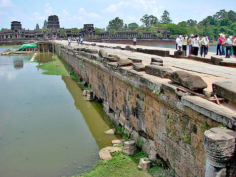 Roy Foos - Moat Crossing Angkor Wat