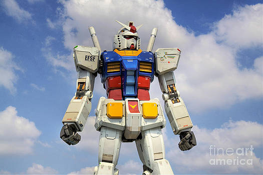 Mobile Suit Gundam by Tad Kanazaki