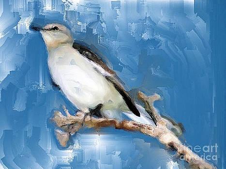 Ruby Cross - Mocking Bird In Blue