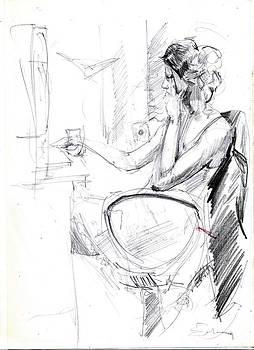 Model Sketch by Ertan Aktas