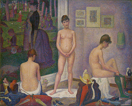 Georges Seurat - Models